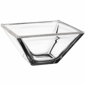 Alan Lee Princess Collection 10In Square Glass Bowl
