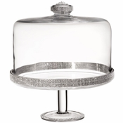 Alan Lee Princess Collection 11In X 12In Cake Stand With Dome