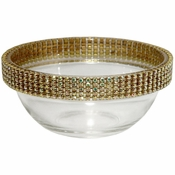 Alan Lee Princess Collection 3.5In Bowl Gold