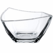 Alan Lee Princess Collection 9In Wave Rim Square Bowl
