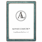 Alan Lee Princess Collection Encrusted Picture Frame Crystal Ice