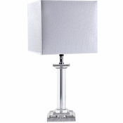 Alan Lee Princess Collection Glass Table Lamp