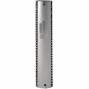 Alan Lee Princess Collection Small Aluminum Mezuzah Case