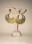 Antique Gold LK Earrings - CLOSEOUT