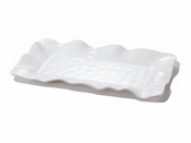 Beatriz Ball Melamine Havana Rect Long Platter White