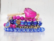 Erimish Bracelet Set Blueberry Bracelet Stack