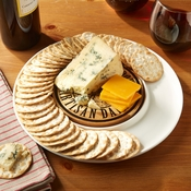 Cheese Board With Cracker Moat