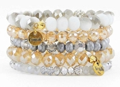Erimish Bracelet Set Cotton Bracelet Stack CLOSEOUT