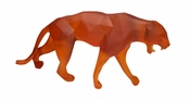 Daum Crystal Panther Wild Orange - Guaranteed Lowest Price