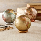 Decorative Globes - Set Of 3