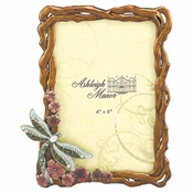 Dragonfly On Vine 4x6 Multi - CLOSEOUT