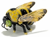 Enameled & Jeweled Bumble Bee Box