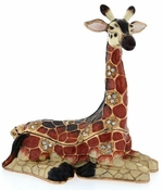Enameled & Jeweled Giraffe Box