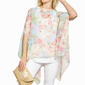 Floral Park Infinity Shawl Assorted 2 Colors