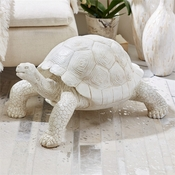 Galapagos Tortoise Figure with Antique Finish