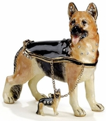 German Sheperd Box & Necklace