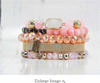 CLOSEOUT Honey Bracelet Stack (Limited Availability)