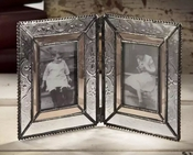 J Devlin Art Glass 2x3 Double Hinged Picture Frame