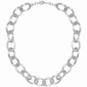 Karine Sultan Chunky Cable Chain Silver - CLOSEOUT