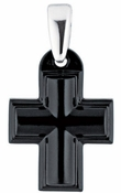 Lalique Cross Black - CLOSEOUT FINAL SALE