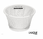 Lalique Fern Votive Candleholder  - CLOSEOUT FINAL SALE