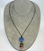 Lalique Happiness Pendant Blue - FALL CLEARANCE SALE