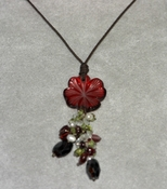 Lalique Happiness Pendant Red - CLOSEOUT FINAL SALE