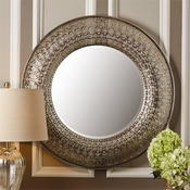 Large Silver Paris Mirror