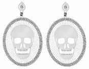 LK Jewelry Silver Plated Earrings
