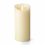 "SOLD OUT Luminara Candles 4"" x 9"" In Pillar W/Timer - SPECIAL"