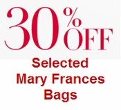 Mary Frances 30% OFF SALE BAGS