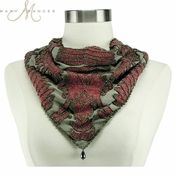 Mary Frances Art Nouveau Scarf - RETIRED:  LAST CALL (Very Limited Availability)