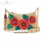 Mary Frances Beach Blossom Mini Handbag