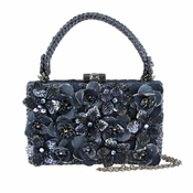 Mary Frances Blue Streak Handbag