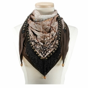 Mary Frances Branching Out Lotus Scarf