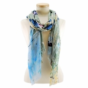 Mary Frances Butterfly Canvas Scarf