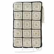 Mary Frances Cross Body Phone / Glasses Pouch Off The Grid Ivory�