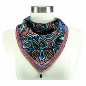 Mary Frances Enery Pattern Scarf