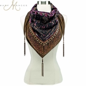 Mary Frances Fascinating Scarf
