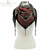 Mary Frances Folklore Scarf