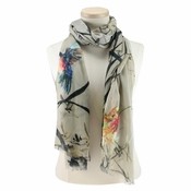 SOLD OUT Mary Frances Hummingbirds Scarf
