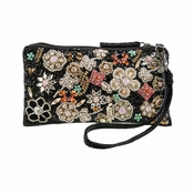 Mary Frances Jewelry Box Wristlet