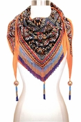 Mary Frances Lotus Scarf Dreamer - 2 to 3 DAY FREE SHIP