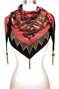 Mary Frances Lotus Scarf Phoenix - 20% OFF TODAY