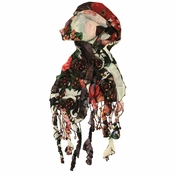 Mary Frances Poets Garden Scarf - 20% OFF TODAY