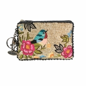 Mary Frances Rose Garden Coin Purse