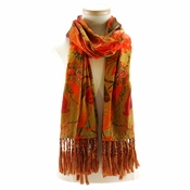 Mary Frances Scarf Butterfly