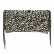 Mary Frances Sway Pewter Bag