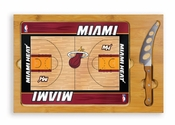 Miami Heat Rectangular Cheese / Cuttiing Board
