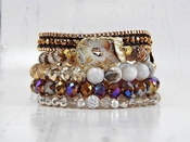 SOLD OUT CLOSEOUT Motley Bracelet Stack (Limited Availability)